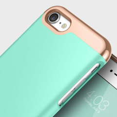 Caseology Savoy Series iPhone 7 Slider Case - Turquoise Mint