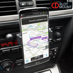 CD Slot Mount 360° Phone Holder with C Grip