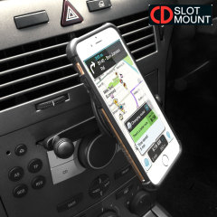 CD Slot Mount 360° Phone Holder with Sticky Pad