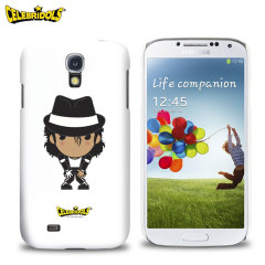 Celebridols Michael Jackson Case for Samsung Galaxy S4 - White