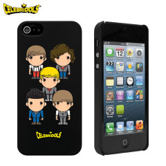 Celebridols One Direction Case for Apple iPhone 5S / 5 - Black