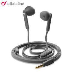 Cellular Line Mantis Handsfree Earphones - Dark Grey