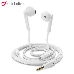 Cellular Line Mantis Handsfree Earphones - White