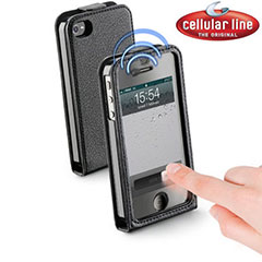 Cellular Line Smart Flap Case for iPhone 4S / 4