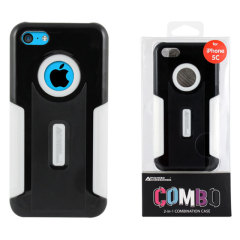 Combo iPhone 5C Case - Black / White