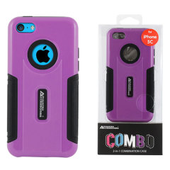 Combo iPhone 5C Case - Purple