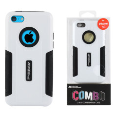 Combo iPhone 5C Case - White / Black