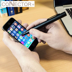 Connector+ 4-in-1 Power Stylus Pen 700mAh - Black