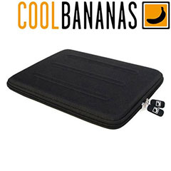 Cool Bananas BulletProof Hardcover iPad 2 / 3 / 4 Case - Black