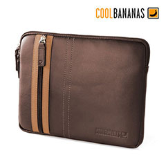 Cool Bananas SmartGuy Sleeve for iPad 3 / iPad 2 - Chocolate
