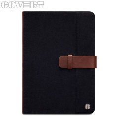 Covert Metropolitan Case for iPad Mini 2 / Mini - Black / Brown