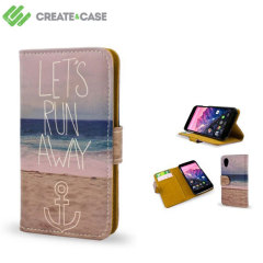 Create and Case Google Nexus 5 2013 Book Case - Let's Run Away