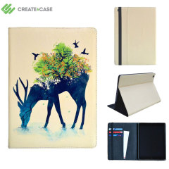 Create and Case iPad Mini 4 Leather-Style Case - Watering