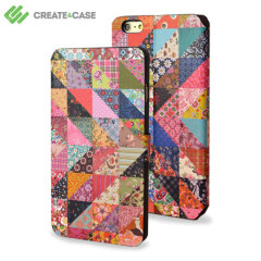 Create and Case iPhone 5 Leather Flip Case - Grandma Quilt