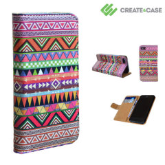 Create and Case iPhone 5 Leather Flip Case - Overdose
