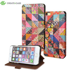 Create and Case iPhone 6S Plus / 6 Plus Book Case - Grandma's Quilt