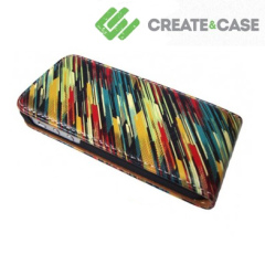 Create and Case Leather Flip Case - 80's Sweater