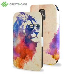 Create and Case Samsung Galaxy S5 Book Case - Sunny Leo