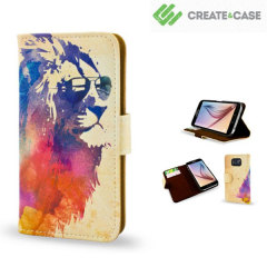Create and Case Samsung Galaxy S6 Book Case - Sunny Leo