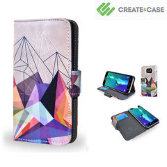 Create and Case Samsung Galaxy S6 Edge Plus Stand Case - Colourflash