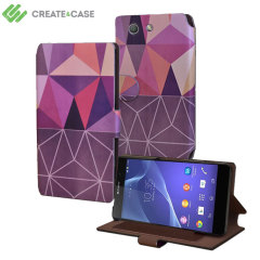 Create and Case Sony Xperia Z3 Compact Stand Case - Nordic Combination
