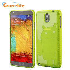 Cruzerlite Androidified A2 Case for Samsung Galaxy Note 3 - Green