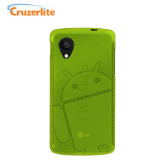 Cruzerlite Androidified A2 TPU Case for Google Nexus 5 - Green