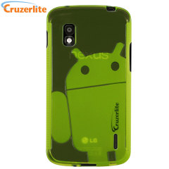 Cruzerlite Androidified TPU Case for Google Nexus 4 - Green