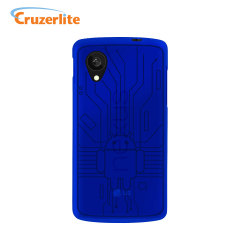 Cruzerlite Bugdroid Circuit Case for Google Nexus 5 - Blue