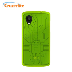 Cruzerlite Bugdroid Circuit Case for Google Nexus 5 - Green