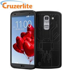 Cruzerlite Bugdroid Circuit LG G Pro 2 Case - Black