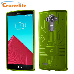 Cruzerlite Bugdroid Circuit LG G4 Gel Case - Green