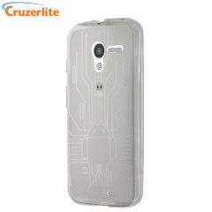 Cruzerlite Bugdroid Circuit  Moto X Case - Clear