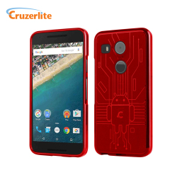 Cruzerlite Bugdroid Circuit Nexus 5X Case - Red