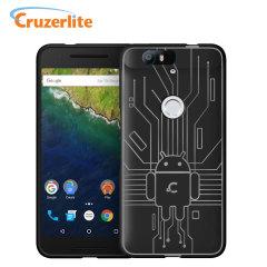 Cruzerlite Bugdroid Circuit Nexus 6P Case - Black