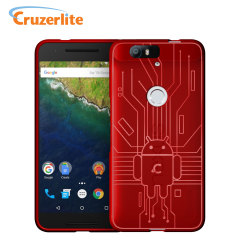 Cruzerlite Bugdroid Circuit Nexus 6P Case - Red