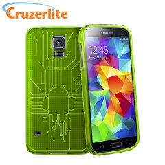Cruzerlite Bugdroid Circuit Samsung Galaxy S5 Case - Green