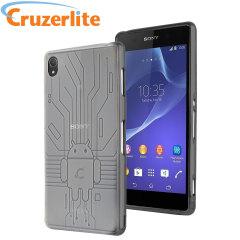 Cruzerlite Bugdroid Circuit Sony Xperia Z3 Case - Clear