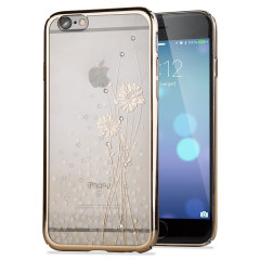 Crystal Ballet iPhone 6S / 6 Case - Champagne Gold