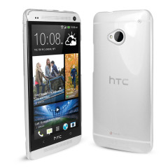 Crystal Clear Case for HTC One - Clear