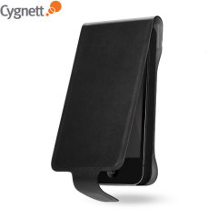Cygnett Lavish Leather Case - Black - iPhone 5