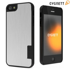 Cygnett UrbanShield Case for iPhone 5 - Silver