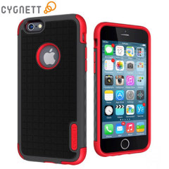 Cygnett WorkMate iPhone 6 Case - Black / Red