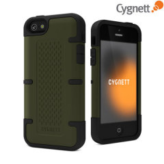 Cygnett WorkMate Pro Case for iPhone 5S / 5 - Black/Green