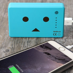 Danbo Power Bank Portable Charger 10,050mAh - Blue