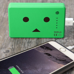 Danbo Power Bank Portable Charger 10,050mAh - Green