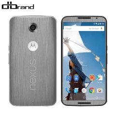 dbrand Google Nexus 6 Skin - Titanium Silver