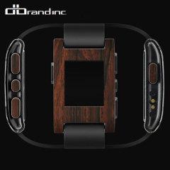 dbrand Pebble Smartwatch Skin & Screen Protector - Wood