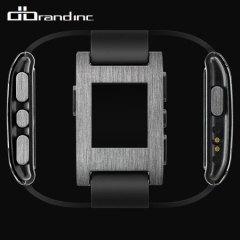 dbrand Pebble Smartwatch Skin - Titanium