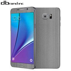 dbrand Samsung Galaxy Note 5 Titanium Skin - Siver